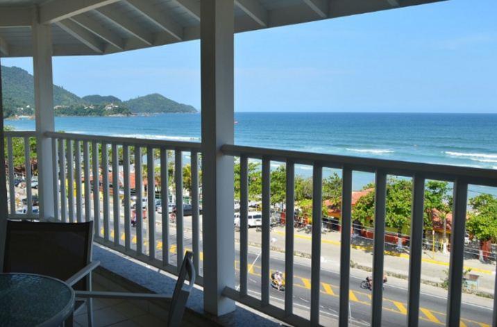 Apartamento com vista para nossa linda Praia Grande